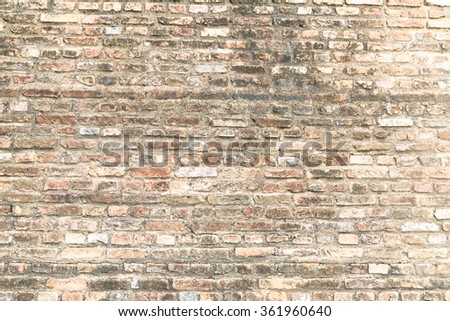 Background old vintage dirty brick wall stock photo 199884215 shutterstock for How to clean interior stucco walls