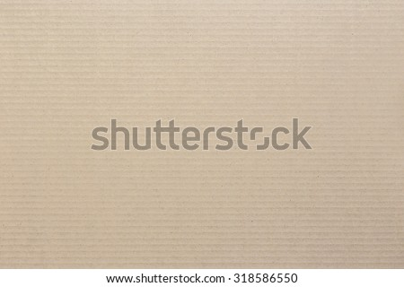 Close up brown cardboard background and texture - stock photo