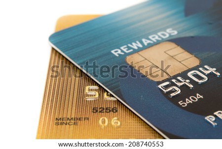 Close Up Credit Card