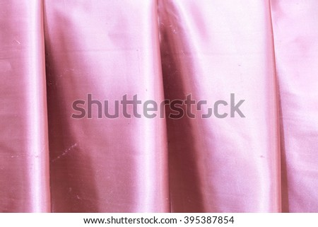 close up curtains - stock photo