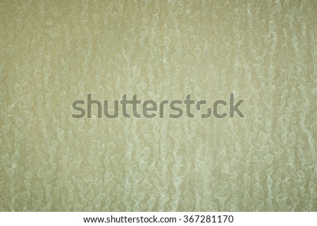 close up dry water stains of soap in shower room on the glass wall in bathroom - stock photo