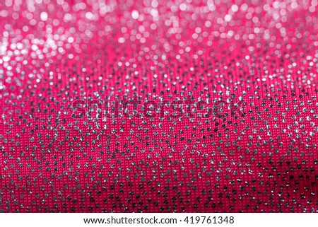 Close-up fabric. texture. covered with reflective dots that give the image its glitter. - stock photo