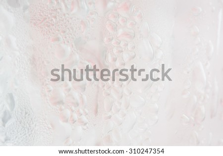close up ice and water detail pattern macro background