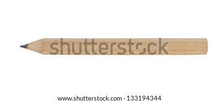 Close-up image of pencil - stock photo