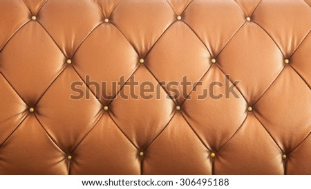 close up leathers texture of Sofa retro - stock photo