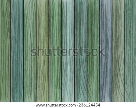 close-up look at retro colorful wooden texture background  - stock photo