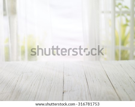 close-up look at wooden with morning bright