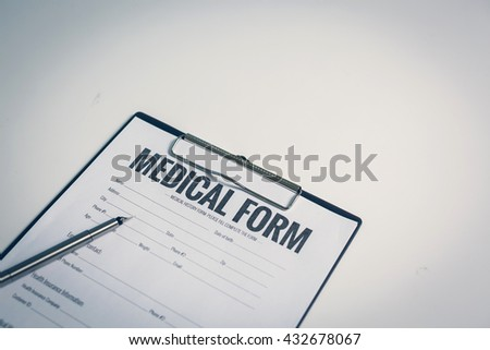Medical History Stock Images, Royalty-Free Images & Vectors