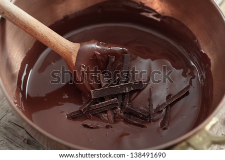 Chocolate Swirl Caramel Flow Chocolate Swirl With Some Chocolate