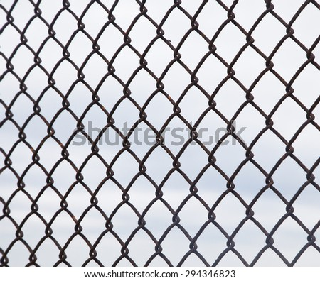 Broken Chain Link Fence Vector chain-link-fence stock photos, royalty-free images & vectors