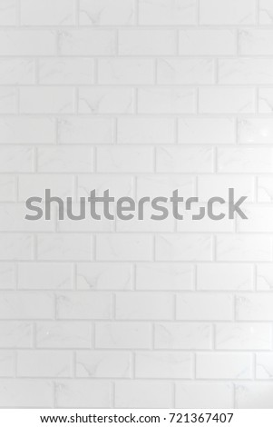 Close Up Modern White Brick Wall Texture Background.Abstract Weathered Texture  White Brick Wall Background