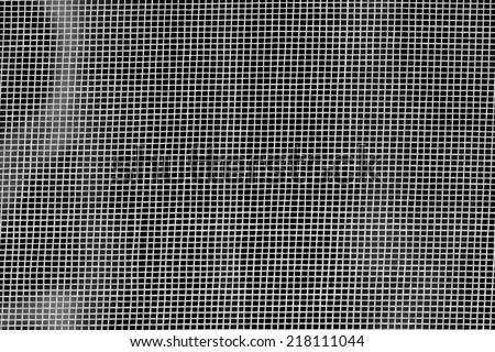close-up mosquito net - stock photo