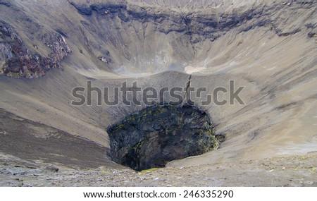 close up Mt.Bromo Volcano, Indonesia  - stock photo