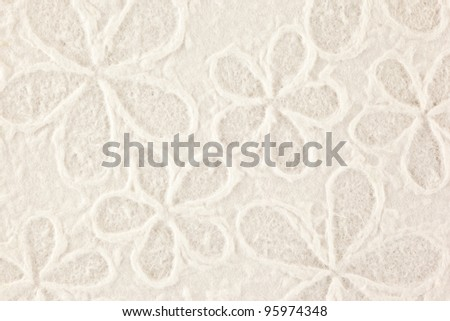 close up mulberry paper  texture - stock photo