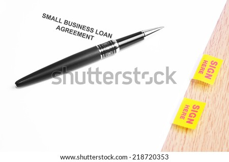 Loan Agreement Stock Photos, Royalty-Free Images & Vectors
