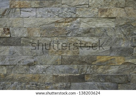 Close up of a brick-wall, texture background - stock photo