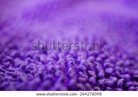 Close up of a cleaning cloth - stock photo