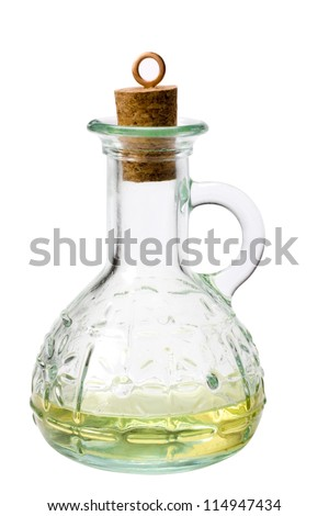 Close-up of a decanter