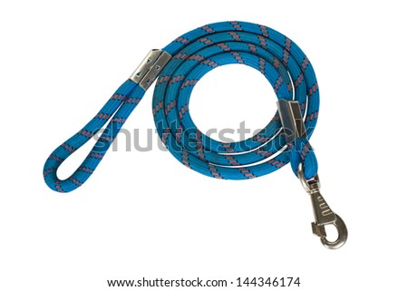 Close-up of a dog leash - stock photo