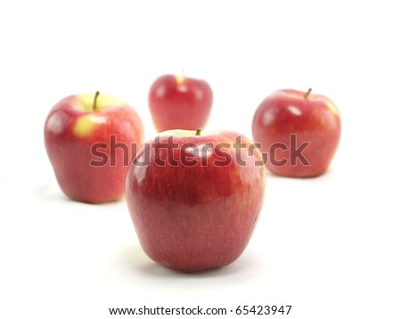 Close up of a fresh apples