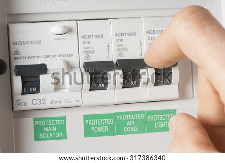 stock photo close up of a home fuse box 317386340 electrical fuse stock images, royalty free images & vectors,Yellow House Fuse Box