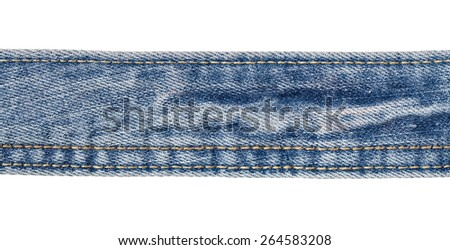 close up of a jeans  - stock photo
