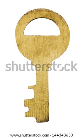 Close-up of a key
