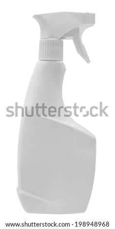 Close-up of a spray bottle  - stock photo