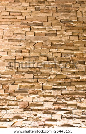 Close up of a stacked stone 4 - stock photo