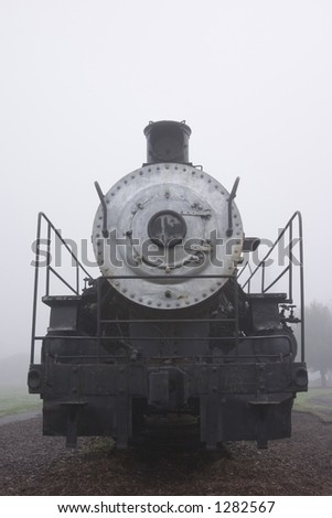 close up of a steam engine