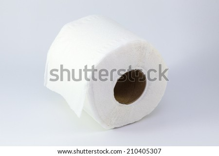 Close up Of A  Toilet Paper