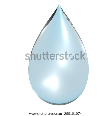 Close up of a water drop