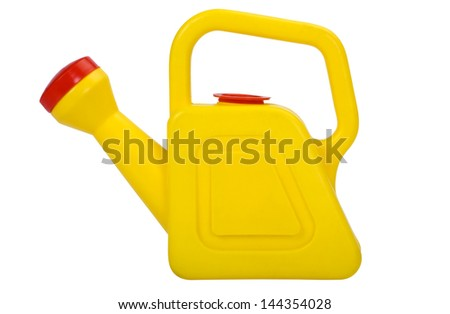 Close-up of a watering can - stock photo