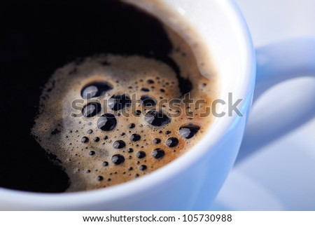 Close-up of a wonderful cup of coffee - stock photo