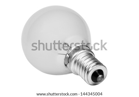 Close-up of an energy efficient lightbulb - stock photo
