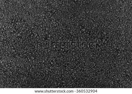 Close up of asphalt road - stock photo