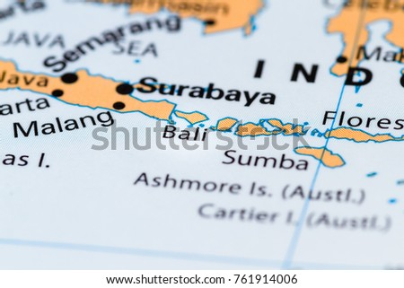 Close Bali Other South Pacific Islands Stock Photo (Royalty Free ...
