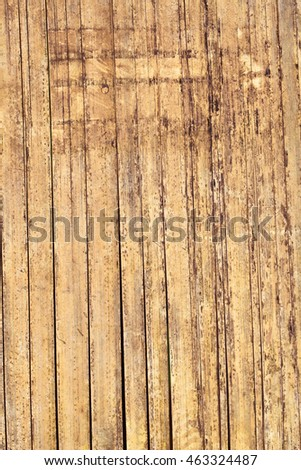 Close up of bamboo wall