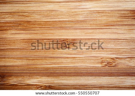 Close up of bamboo wood texture. Wooden textured pattern detail.
