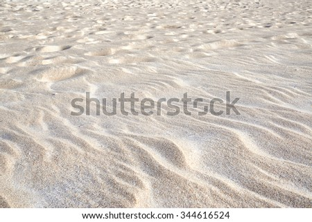 Close up of beach sand texture background - stock photo
