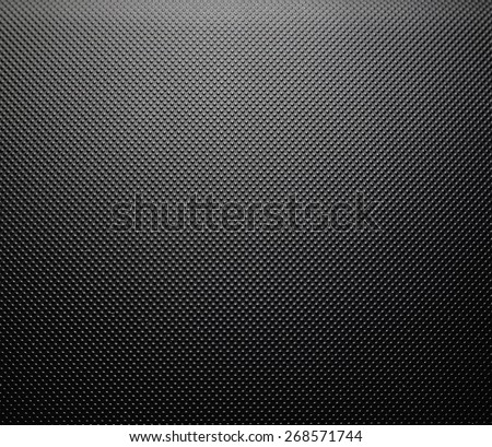 Close up of black dot background - stock photo