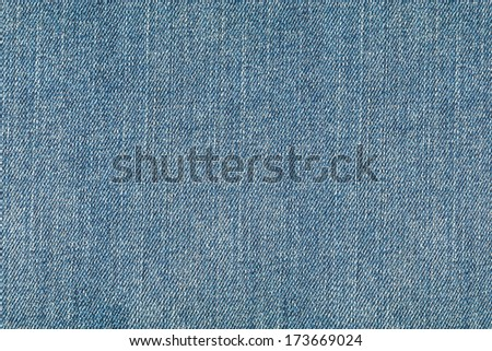 Close up of blue jeans texture for background - stock photo