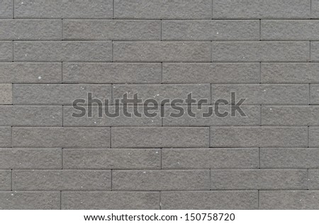 Close up of brick wall.