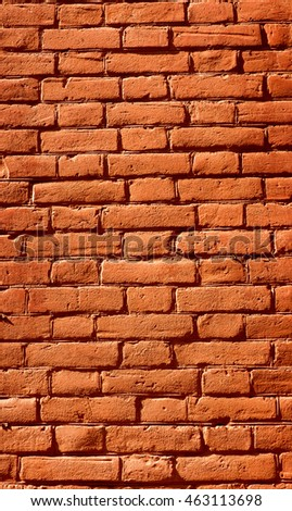Close up of brick wall