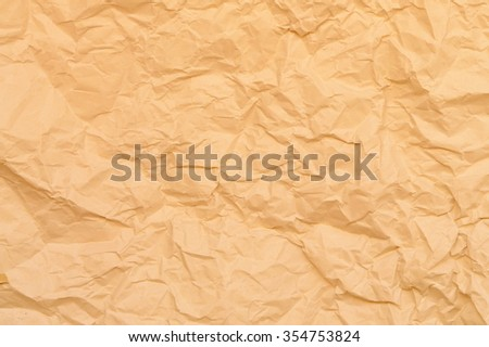 Close-up of brown paper showing texture