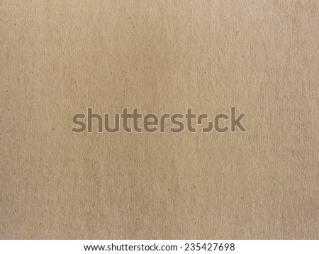 Close up of brown paper texture