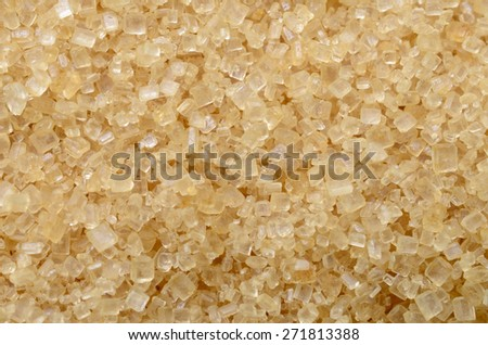 Close up of brown sugar texture