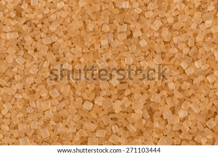 Close up of brown sugar texture as a background - stock photo