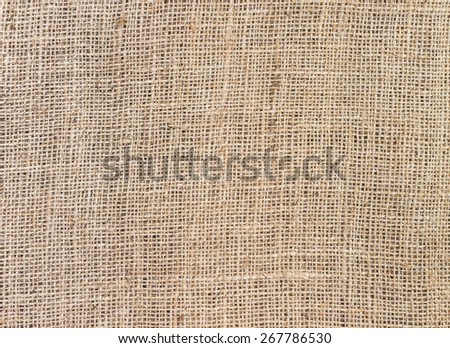 close up of Burlap texture for background