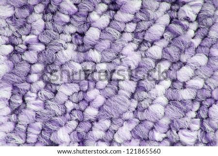 close up of carpet texture macro - stock photo